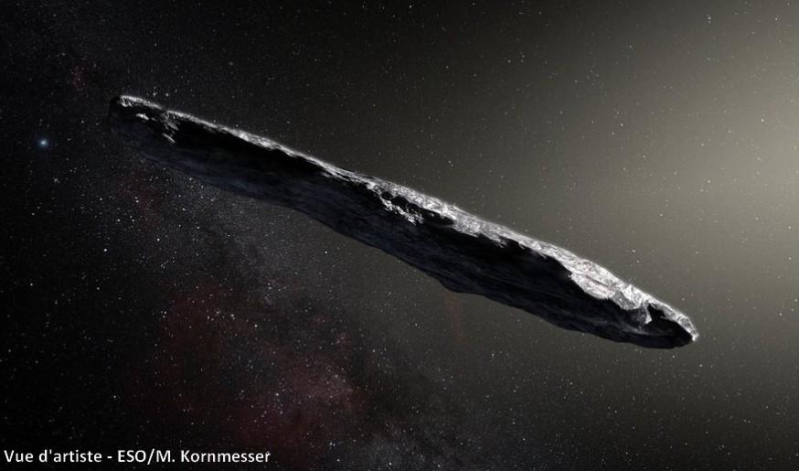 Oumuamua asteroide extraterreste systeme