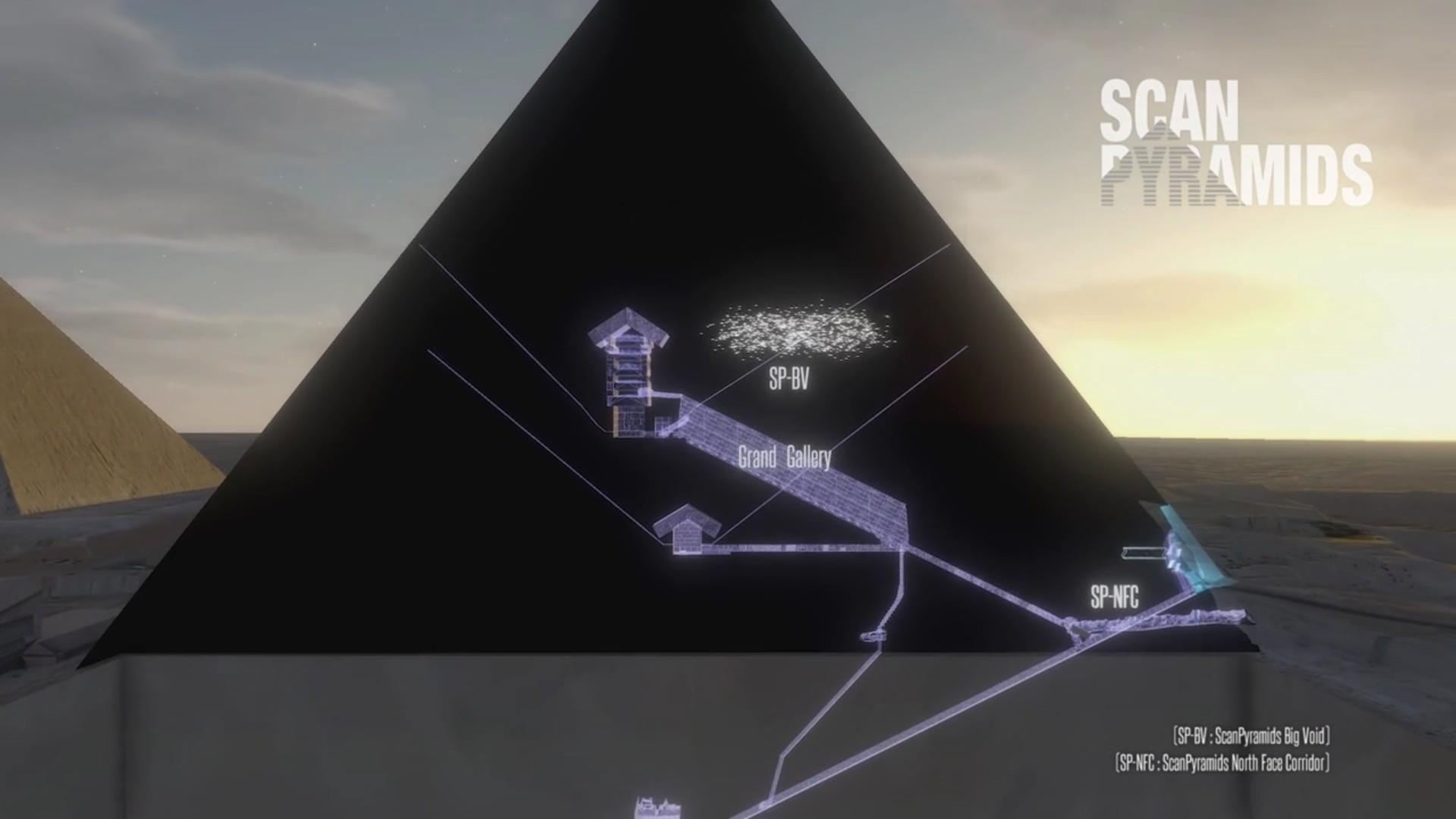 kheops pyramide cavite vite découvert