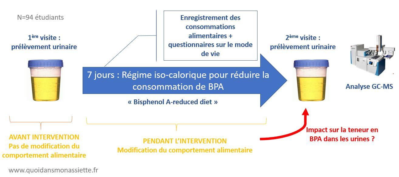 protocole etude bisphenol A