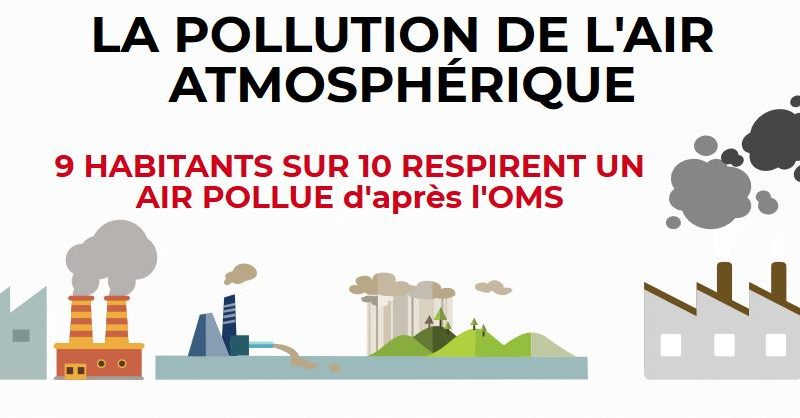 air pollué image