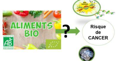 Alimentation Bio risque cancer cohorte Nutrinet santé Organic food