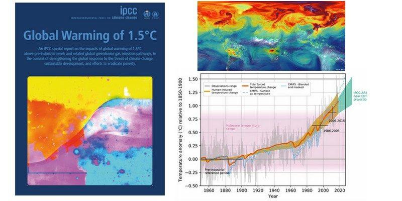 rapport GIEC IPCC rechauffement climatique 1