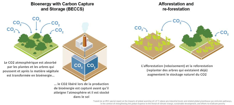 techniques stockages captures dioxyde de carbone