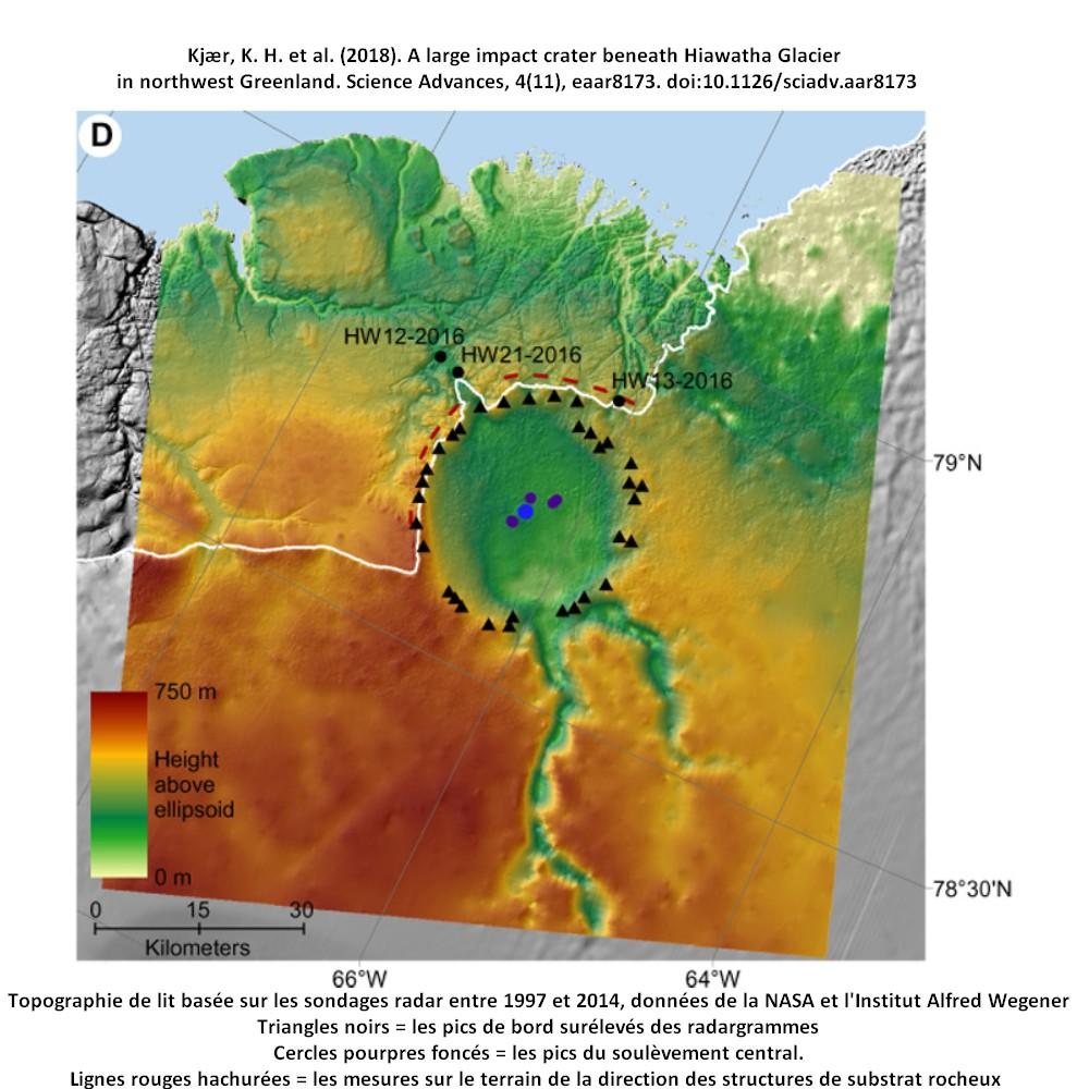 cratère groenland