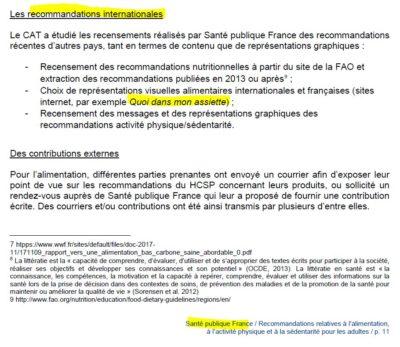 Quoidansmonassiette cité par santé publique france
