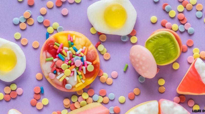 bonbons ultra-transformés colorants additifs candies