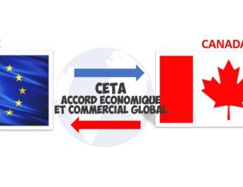 CETA accord économique commercial global trade agreement