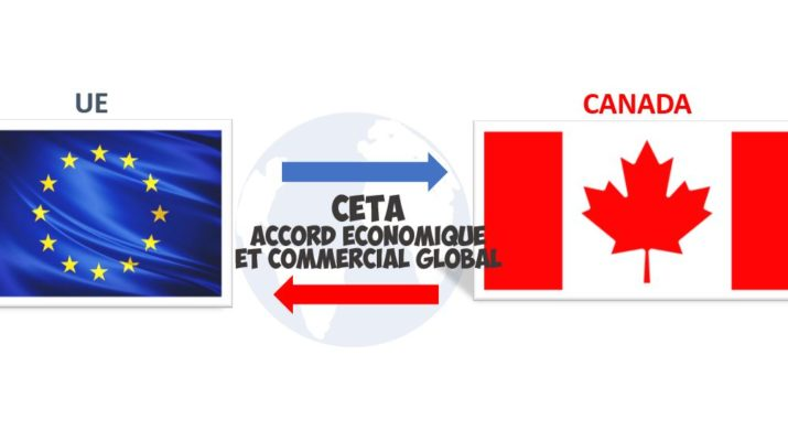 CETA accord économique commercial global trade agreement