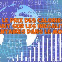 Et si le prix d'une calorie influençait les enjeux nutritionnels dans le monde