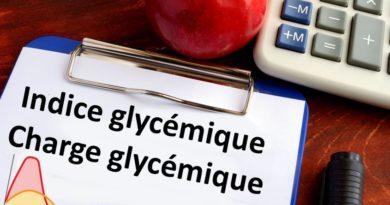 index glycémique charge glycémique