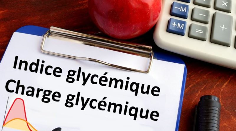 index glycémique charge glycémique